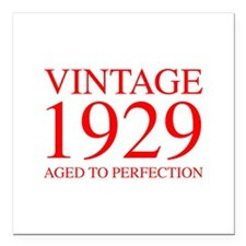 VINTAGE 1929 aged to perfection-red 300 Square Car