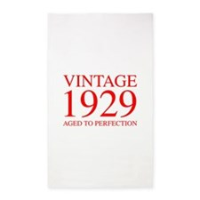 VINTAGE 1929 aged to perfection-red 300 Area Rug