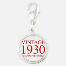 VINTAGE 1930 aged to perfection-red 300 Charms