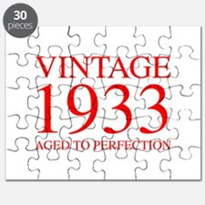 VINTAGE 1933 aged to perfection-red 300 Puzzle