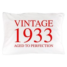 VINTAGE 1933 aged to perfection-red 300 Pillow Cas