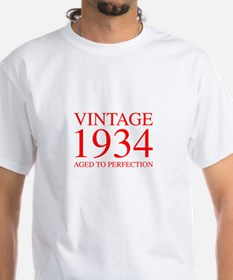 VINTAGE 1934 aged to perfection-red 300 T-Shirt