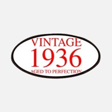 VINTAGE 1936 aged to perfection-red 300 Patch