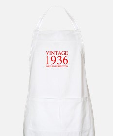 VINTAGE 1936 aged to perfection-red 300 Apron