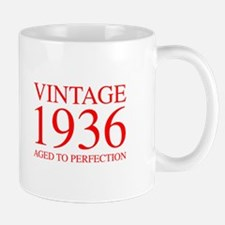 VINTAGE 1936 aged to perfection-red 300 Mugs