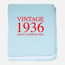 VINTAGE 1936 aged to perfection-red 300 baby blank