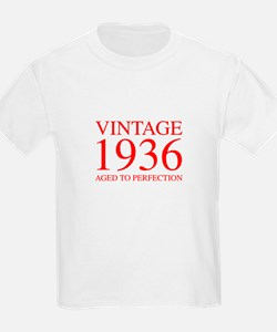 VINTAGE 1936 aged to perfection-red 300 T-Shirt