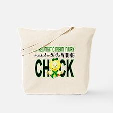 TBI MessedWithWrongChick1 Tote Bag
