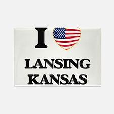 I love Lansing Kansas Magnets