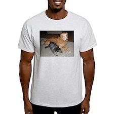 Swoozie and Dora Ash Grey T-Shirt
