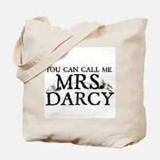 """Call Me MRS. Darcy"" Tote Bag"