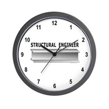 Structural Engineer Wall Clock