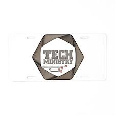 TechMinistry Aluminum License Plate