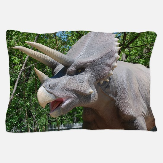 Dinosaur Triceratops Pillow Case