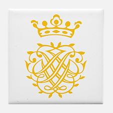 JS Bach Symbol Tile Coaster