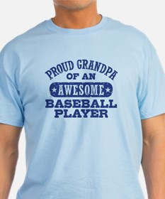 Proud Baseball Grandpa T-Shirt