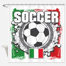 Soccer Italy Shower Curtain