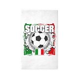 Italian football 3x5 Rugs