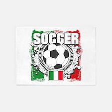 Soccer Italy 5'x7'Area Rug