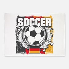 Germany Soccer 5'x7'Area Rug