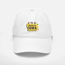 IOWA BORN Baseball Baseball Baseball Cap