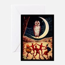 Halloween Revel Greeting Card