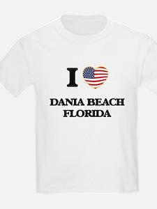 I love Dania Beach Florida T-Shirt