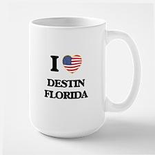 I love Destin Florida Mugs