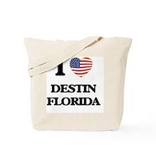 I love Destin Florida Tote Bag