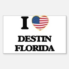 I love Destin Florida Decal