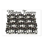 BOSTON TERRIER DOG Postcards (Package of 8)