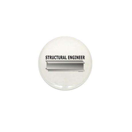 Structural Engineer Mini Button
