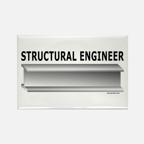 Structural Engineer Rectangle Magnet