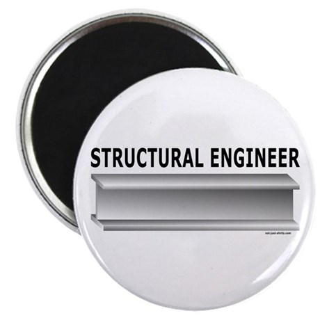 """Structural Engineer 2.25"""" Magnet (100 pack)"""