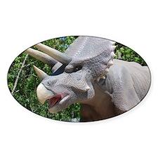 Dinosaur Triceratops Decal