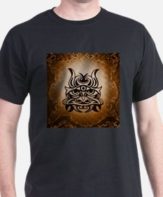 Vicious Tribal Mask Snakeskin 005 T-Shirt