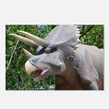 Dinosaur Triceratops Postcards (Package of 8)