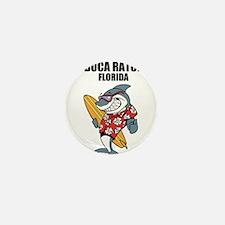 Boca Raton, Florida Mini Button