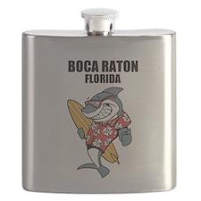 Boca Raton, Florida Flask