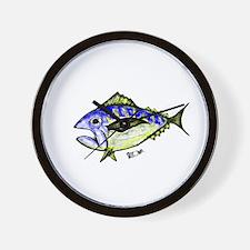 Tuna Abstract 2 Wall Clock