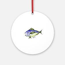 Tuna Abstract 2 Ornament (Round)