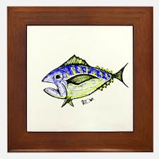 Tuna Abstract 2 Framed Tile