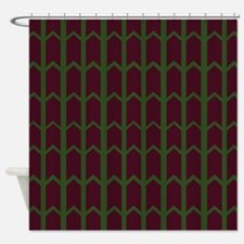 Mint Chocolate Chip Rivets Shower Curtain