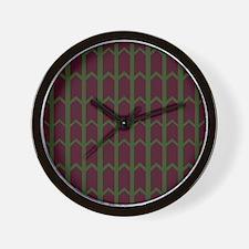 Mint Chocolate Chip Rivets Wall Clock
