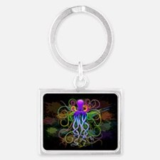 Octopus Psychedelic Luminescence Keychains
