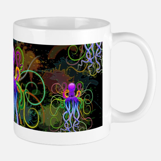 Octopus Psychedelic Luminescence Mugs