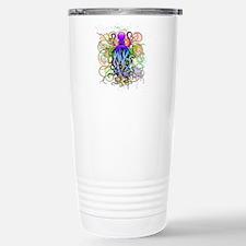 Octopus Psychedelic Luminescence Travel Mug