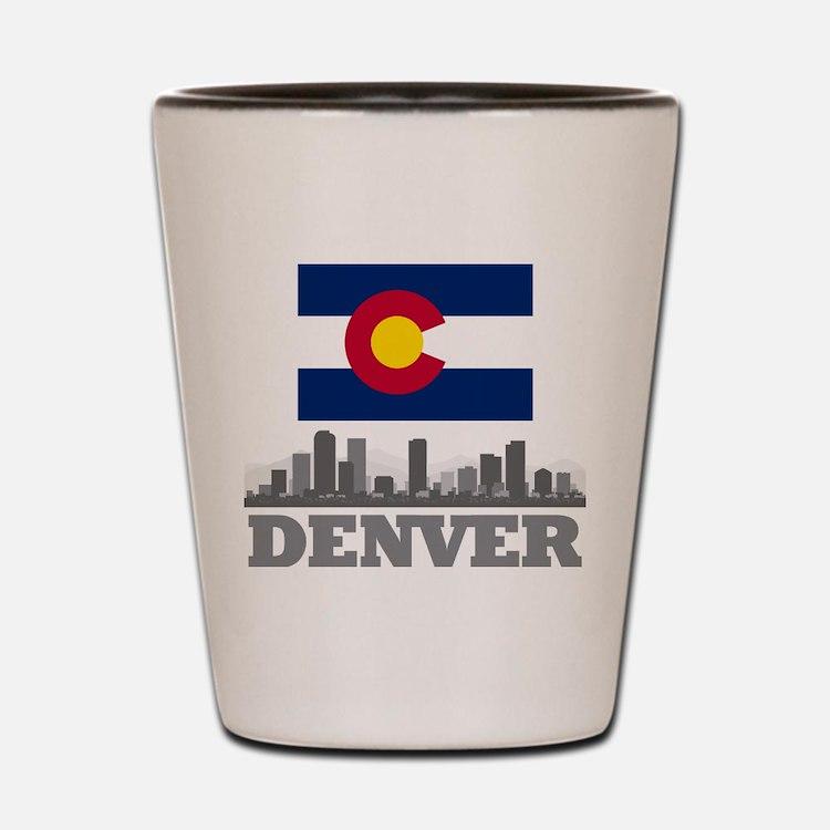 Denver Colorado Shot Glasses, Buy Personalized Denver