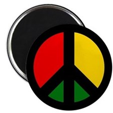 Rasta Ban the Bomb Magnets