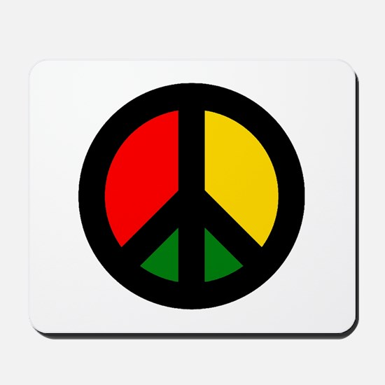 Rasta Ban the Bomb Mousepad